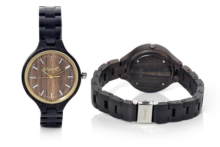 Eco Watch made of Walnut LIZZ | Root® Watches