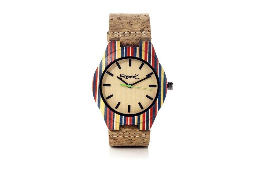 Eco Watch made of Skateboard modelo ISLA GR.  | Root® Watches