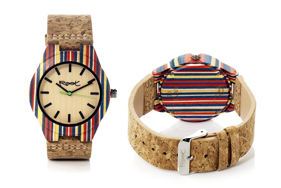 Reloj de Madera Laminada ISLA GR | Root® Watches