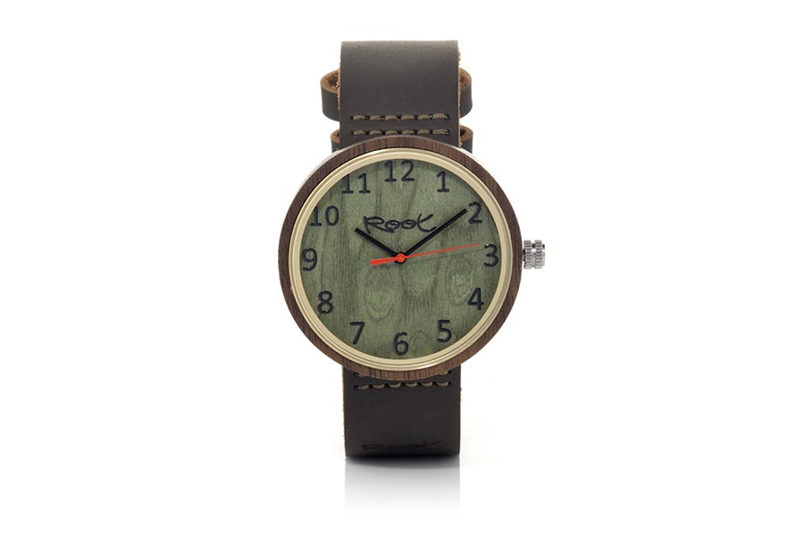 Eco Watch made of Walnut modelo PLAN.  | Root® Watches