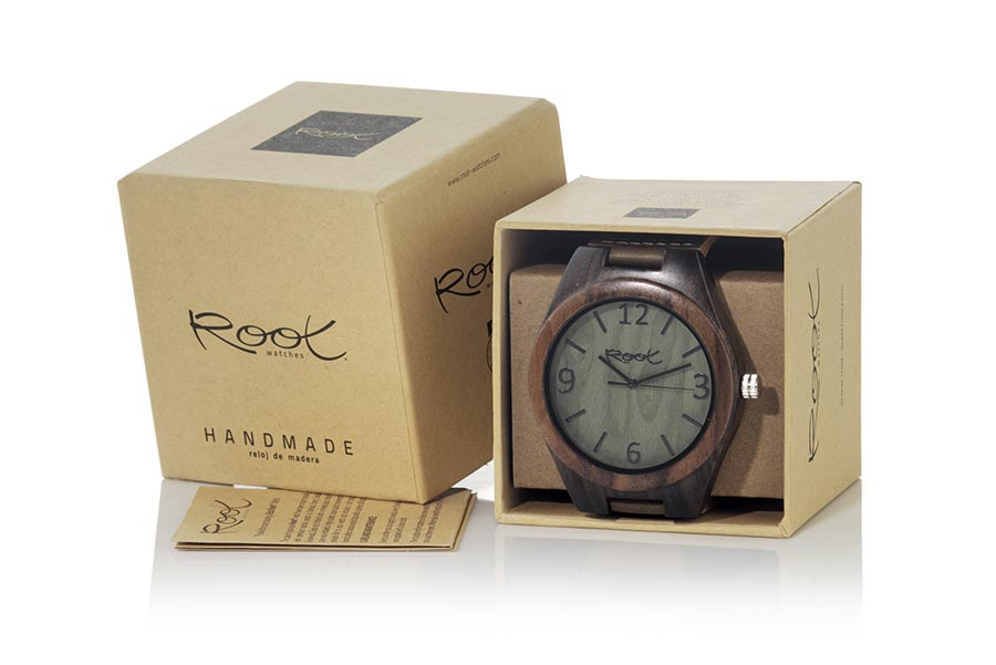 Eco Watch made of ebony modelo RELEASE | Root® Watches