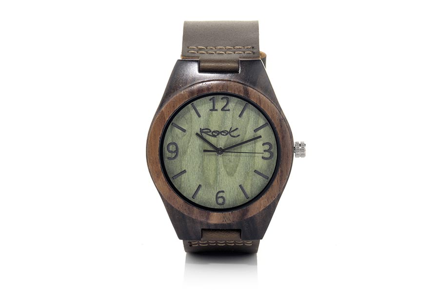 Eco Watch made of ebony modelo RELEASE.  | Root® Watches