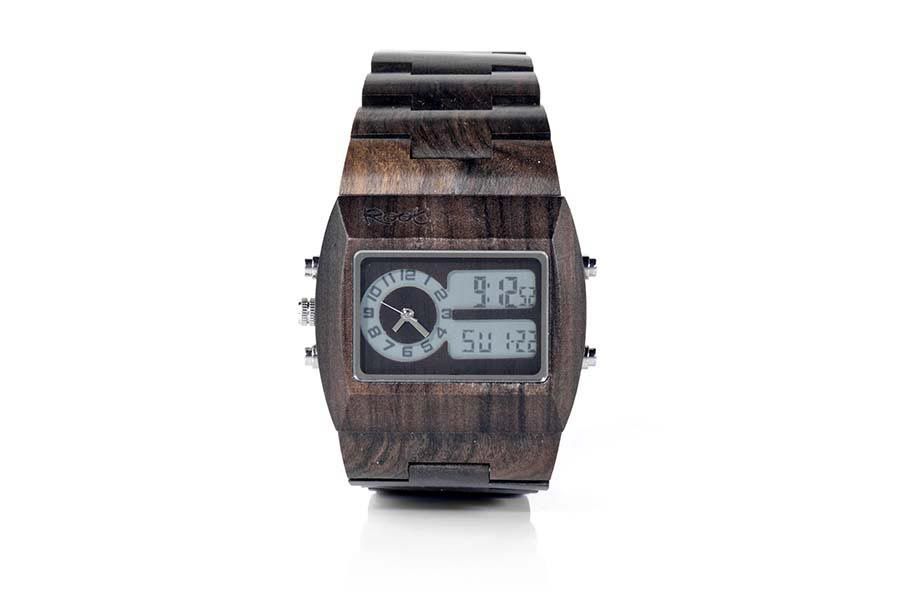 Eco Watch made of Sandalwood RAMSO DUAL | Root® Watches