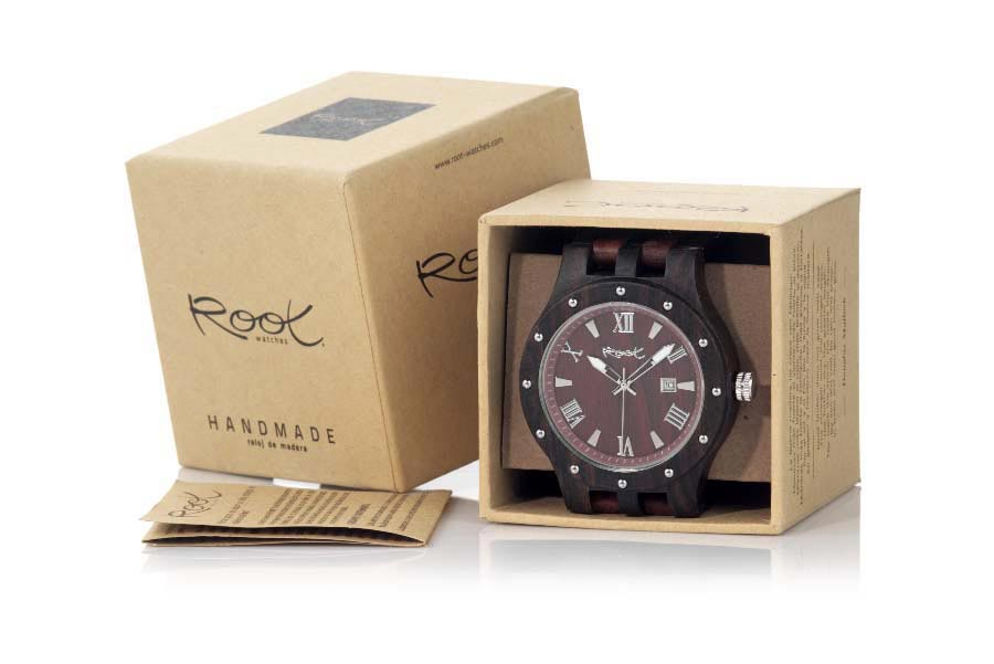 Reloj de Madera Sándalo CLAW ROMAN | Root® Watches
