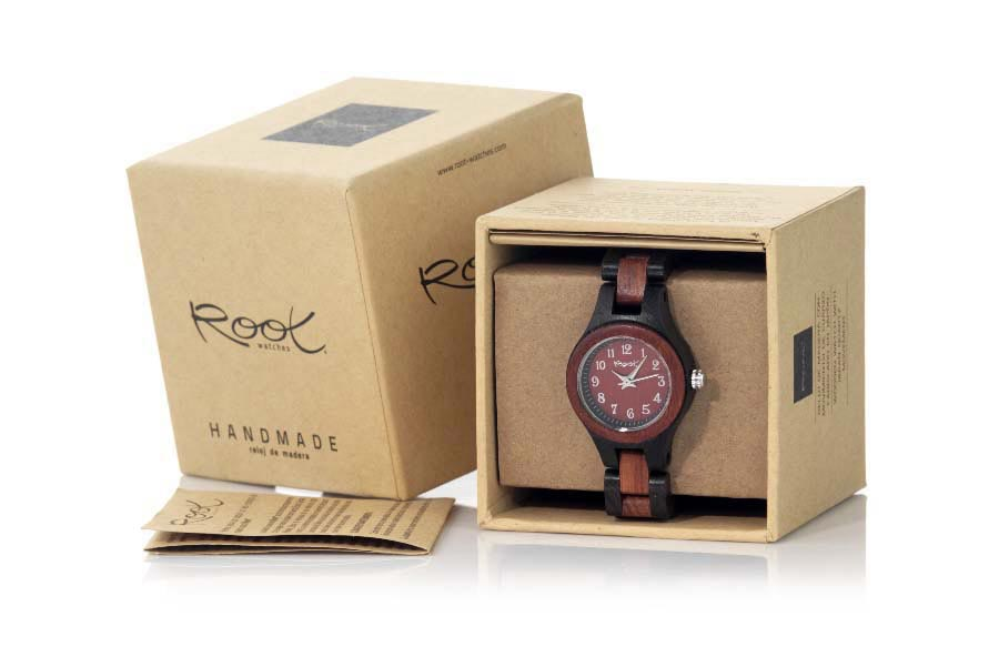 Eco Watch made of Sandalwood modelo ON TIME GIRL | Root® Watches