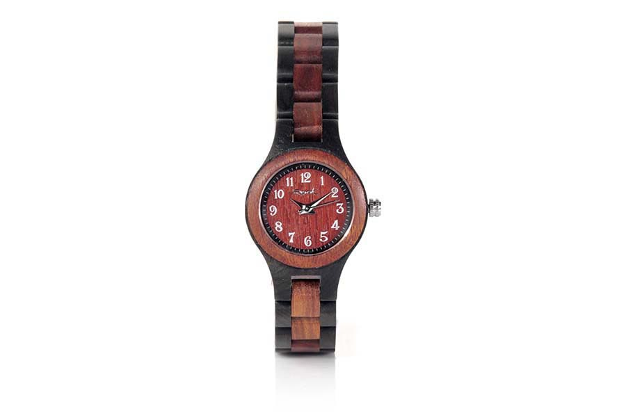Eco Watch made of Sandalwood modelo ON TIME GIRL.  | Root® Watches