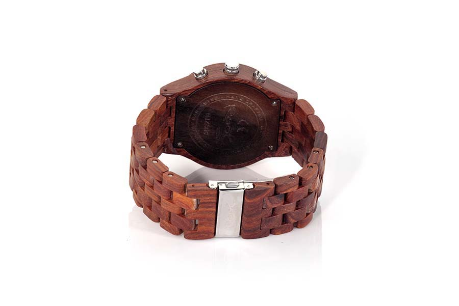 Eco Watch made of Sandalwood CHRONO SUNRISE...  | Root® Watches