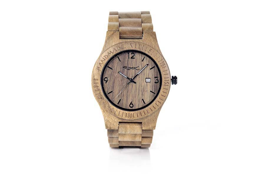Reloj de Madera Natural CAPE TOWN