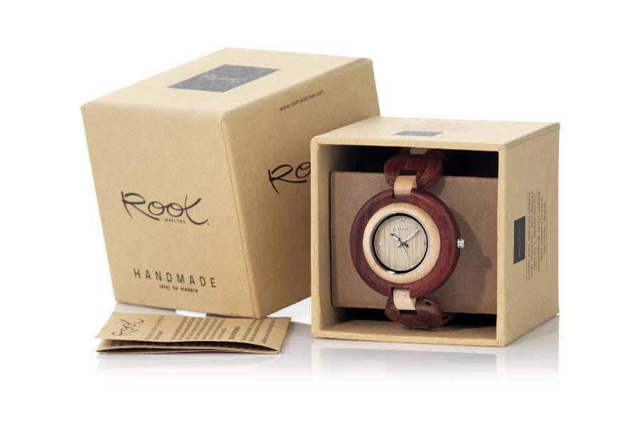 Eco Watch made of Sandalwood modelo MY TIME GIRL | Root® Watches