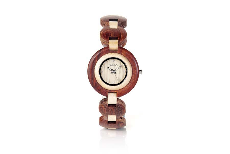 Reloj de Madera Natural MY TIME GIRL