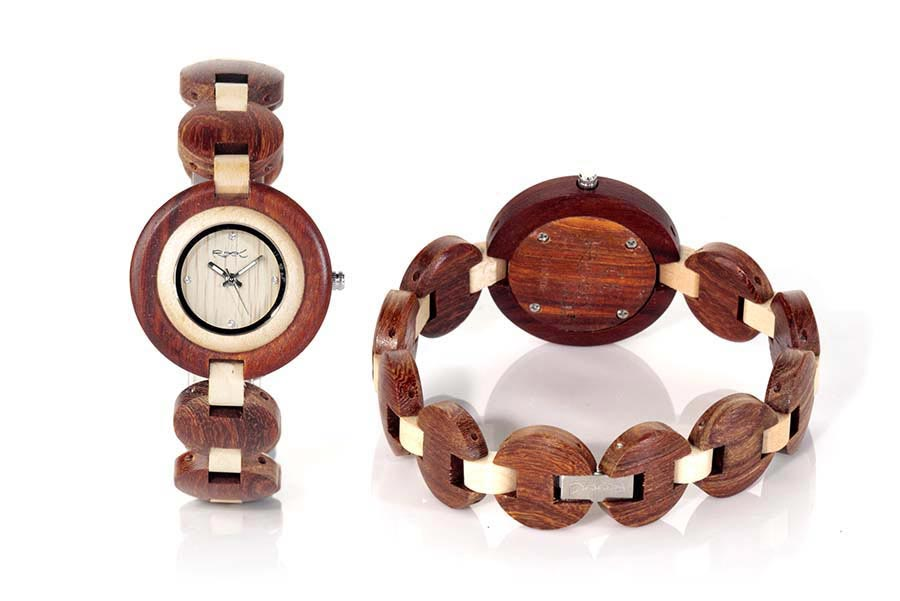 Reloj de Madera Sándalo MY TIME GIRL...  | Root® Watches