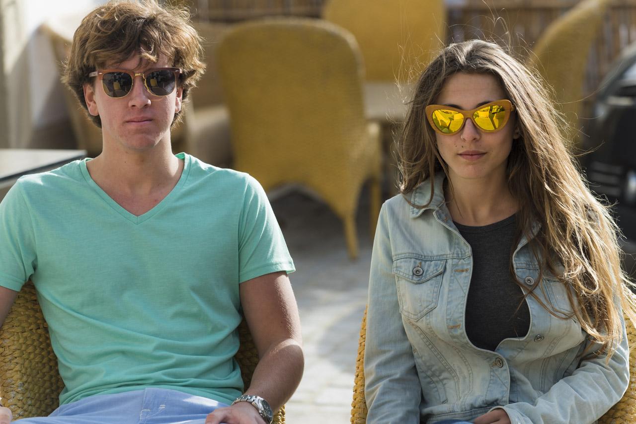 Wood eyewear of Sandalwood DASHT | Root Sunglasses ®