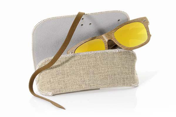 Wood eyewear of  ESTUCHE SEMIRÍGIDO | Root Sunglasses®