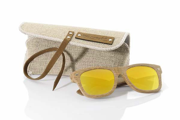Wood eyewear of  modelo ESTUCHE SEMIRÍGIDO | Root Sunglasses®